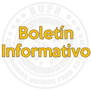 Boletín informativo. COVID19